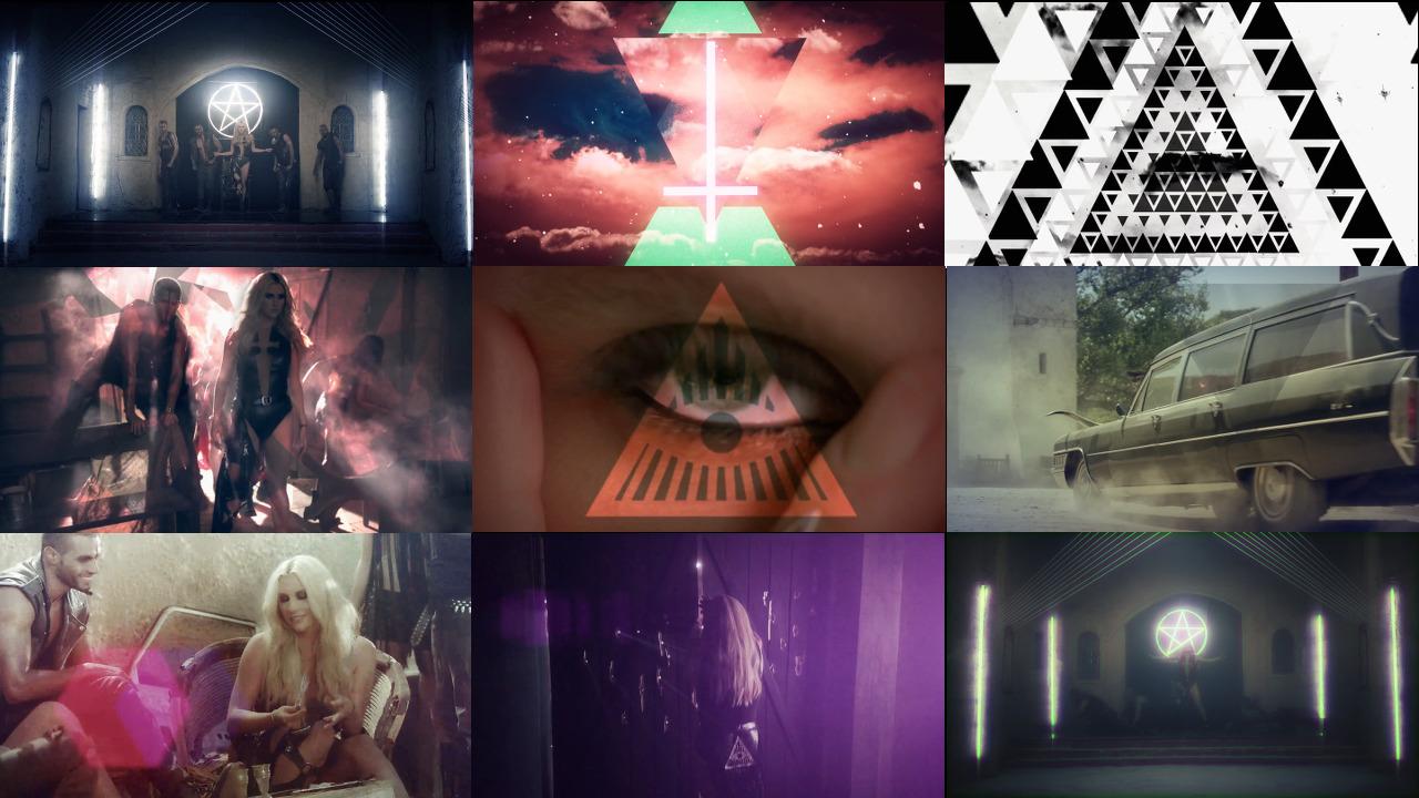 kesha_die_young_symbols
